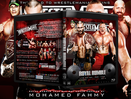 WWE Royal Rumble 2014 Blu-ray Cover by Mohamed-Fahmy