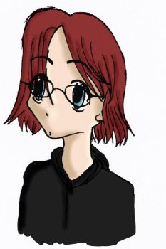 Selfportrait in Anime Style by piwkasumi
