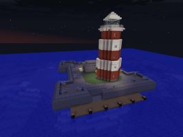 Fotrified Lighthouse 2 by ColtCoyote