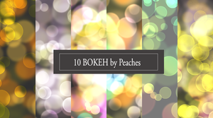Bokeh Pack 2 by JU5TPeachy