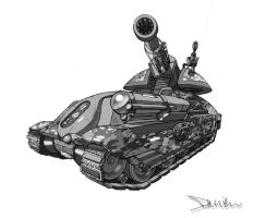 Tank Value Study by DamienSaelak