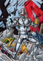 Ultron - 2015 Marvel Fleer Retro by tonyperna