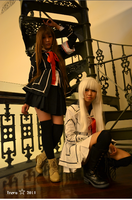 Vampire Knight:Stuck in the patched crevices by Aoi-channnu