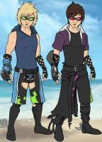 Zak and Liam by CloudyRose06