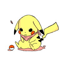 Sweet Pikachu Draw by FabioRosado