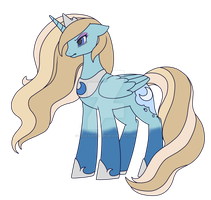 Luna [Elsa Palette Swap] by SweetieStarlight