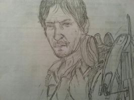 Norman Reedus: Daryl Dixon by Drawception