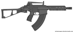 This is an SMG by BurnerMeen