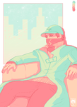 W_D: Aiden Pearce Palette Challenge by Frosted-Monster