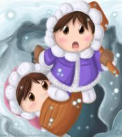 Ice Climber Duo by Forest-Sprite