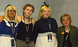 APH Cosplay-Unlikely Allies by nursal1060