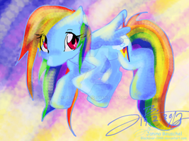 Cute Rainbow Dash by JB-Pawstep