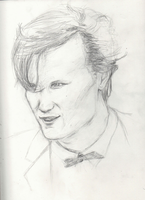 Matt Smith - The Eleventh Doctor by shipleyweasley