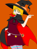 Witch of sweets by LubzAnime