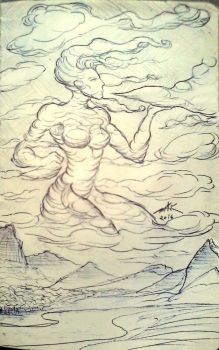 Wind Woman by Witchborg