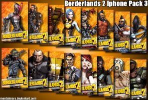 Borderlands 2 Iphone Pack 3 - Iporange by mentalmars