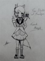 Five Nights at Freddy's Female Mangle by UnitInfinity
