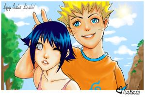 Happy Easter Hinata by Patch-The-Pirate