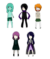 .: MC Adopts : [1/5 Open] :. by Glitched-Artist