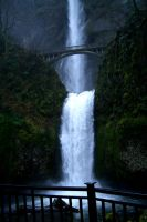 Multnomah Falls by Infest90