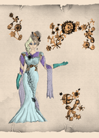 Elsa - Engines and Outcasts - Steampunk AU by eliazeravenfeather