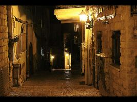 Night in the old city 2 by ShlomitMessica