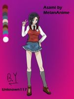 Request#20: Asami by MelanAnime by Unknown117