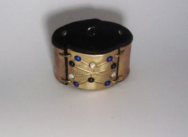 Soulcaster Leather Cuff by Peaceofshine