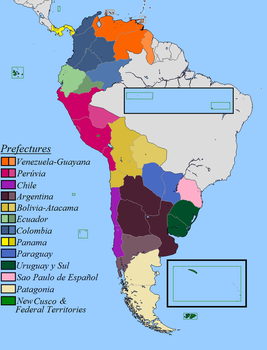 Alt - Federation of Sudamerica (Prefectures) by Sharklord1