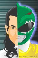 Power Ranger Green: Tommy for William by Kaio-Silva