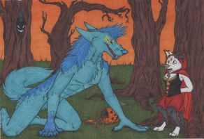 Halloween Contest: Hey there little red... by JulieSchuster