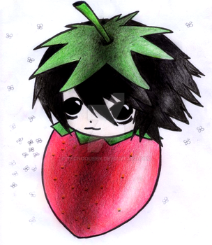 Strawberry L Lawliet by TecnoQueen