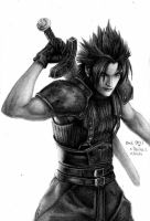 Zack Fair - FF7/ Crisis core by reniervivas666