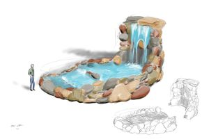 Portable Waterfall Concept by BobWulff