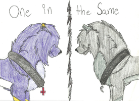 :One in the same: by Zacaria-Lain
