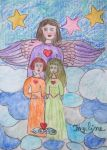 The Angel of faithfulness by ingeline-art