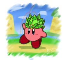 Kirby's Cookie Leaf by riodile