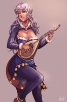 CM : Ace , the traveling musician by kachima