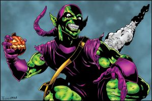 The Green Goblin - Tyndallsquest and me by pascal-verhoef
