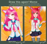 Meme  Before And After by iivaniia