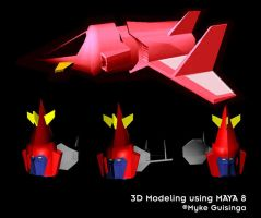 3D Modeling Using MAYA 8 by Mykemanila