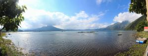 Kintamani Lake by ProfSmiles