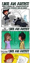 Like an artist - Meme by x-Uchiwa-x