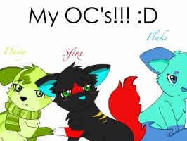 My OC's ~ by 4everabooklovergirl2
