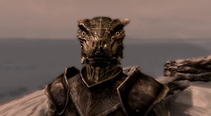 Farsek the Argonian - Skyrim by Tryzon