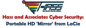 Hass and Associates Cyber Security: Portable HD by charleshaw