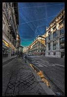 The Bus Lane by Aderet