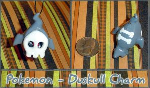 Pokemon - Duskull Charm by YellerCrakka