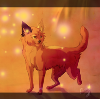 Red Cat by arucarrd
