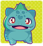 001 Bulbasaur by Miss-Glitter